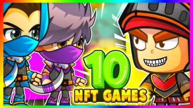 10 NFT GAMES RPG YOU CAN PLAY TO MAKE $100 A DAY!!