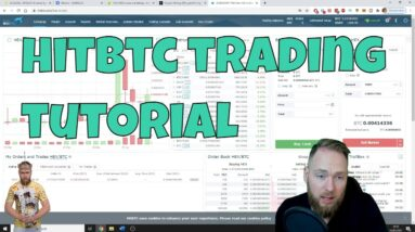 HitBTC Exchange Trading Tutorial: How to Sell HEX Crypto (or Any Other Cryptocurrency)