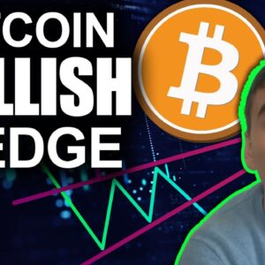 Bitcoin Looking Up as Bullish Wedges Form (Altcoins to pump soon?)