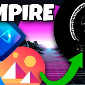 vEMPIRE!!!!! DEFI STAKING OF METAVERSE TOKENS!!! (DECENTRALAND, AXIE INFINITY, THE SANDBOX, ETH...)