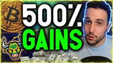 500% GAINS! WE ARE STILL EARLY! Q4 Will Be The Best Bull Run To Date!