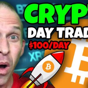 INSANELY ACCURATE CRYPTO TRADER REVEALS HOW TO START DAY TRADING BTC & ALTCOINS FOR FREE!!!