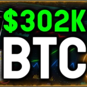 $302K BTC!! After Best Bitcoin Close Out Ever, The King of Crypto Sets sights on 500% Gains!!!