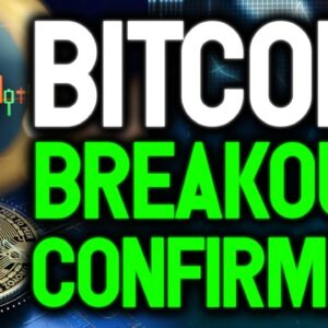 Bitcoin Breakout Confirmed! Best pattern indicate $80K BTC in the next 30 days!