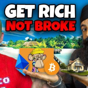 GET RICH WITHOUT GOING BROKE!!!!! INVESTING IN TODAY'S MARKET w/ MINORITY MINDSET'S JASPREET SINGH!