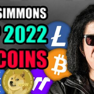 Gene Simmons REVEALS His 10x Cryptocurrency Portfolio for 2022 (Top 2022 Altcoins)